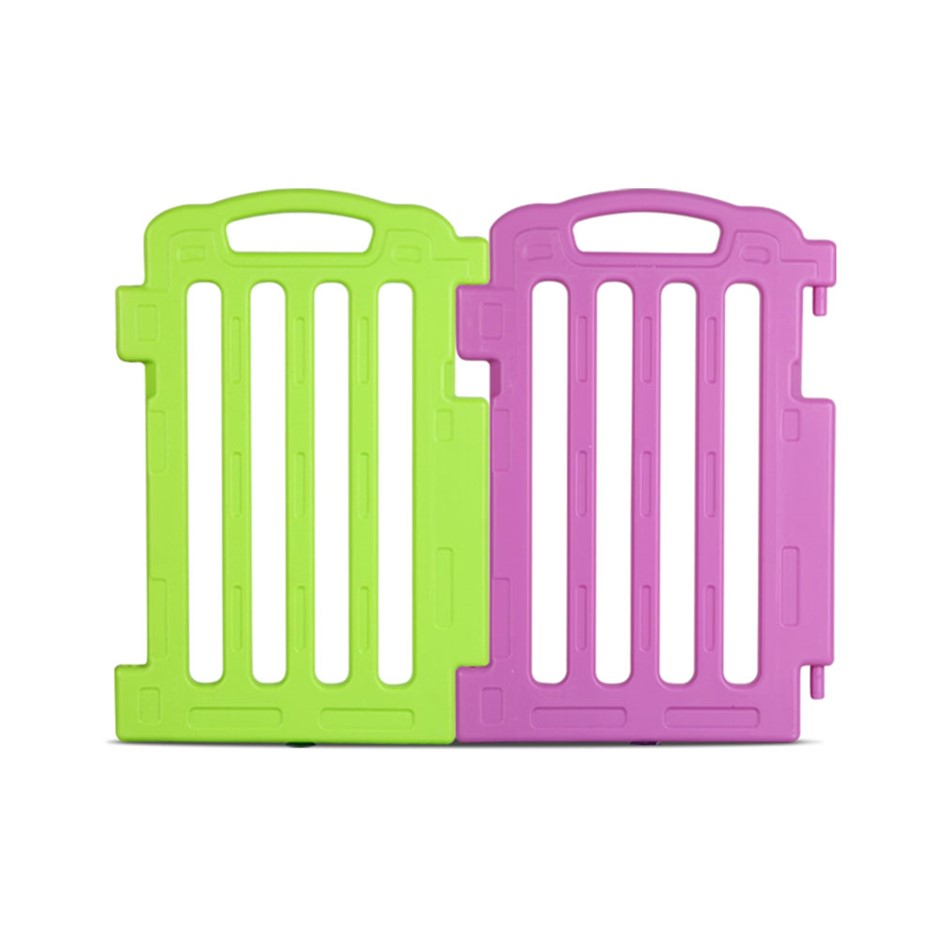 Plastic Baby Playpen Set of 2 Safety Divider Gate Fence-Extension Panel