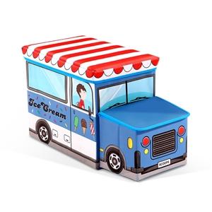 Kids Toy Box Storage Children Chair Stoo