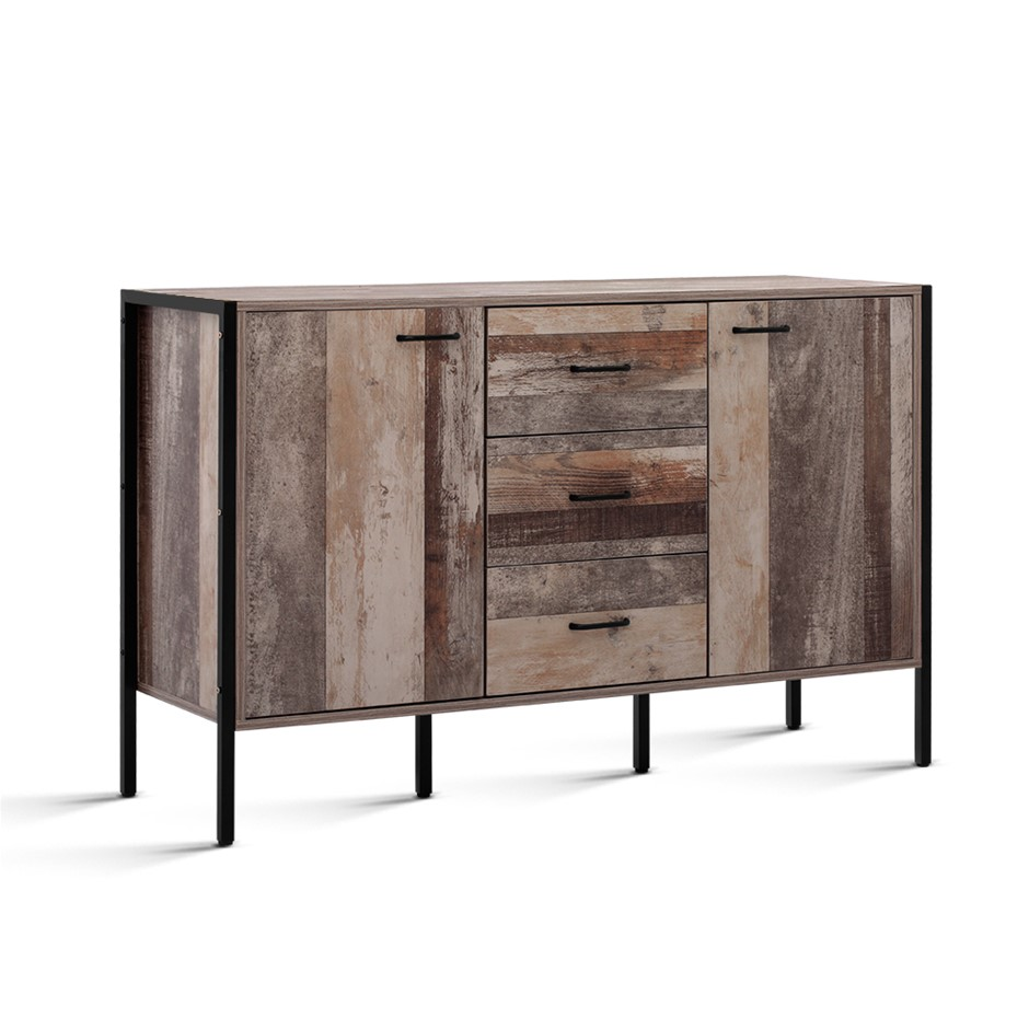 Artiss Buffet Sideboard Cabinet Kitchen Hallway Table Industrial Rustic