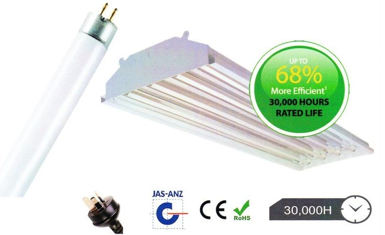 27 x Linear High Bay Fluorescent Lighting Kit (Bay and 3 x Fluro Tubes)