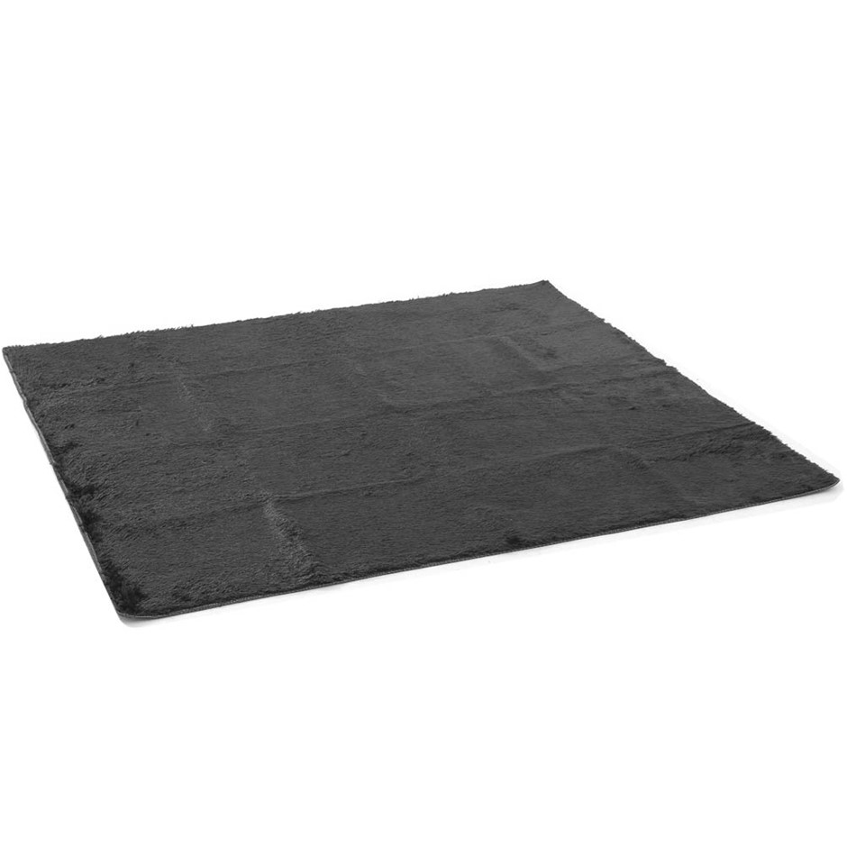 Artiss Soft Shaggy Rug 160x230cm Large Floor Carpet Anti-slip Rugs Black