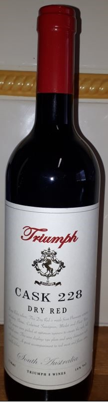 Triumph Cask 228 Dry Red NV (6 x 750mL) SA