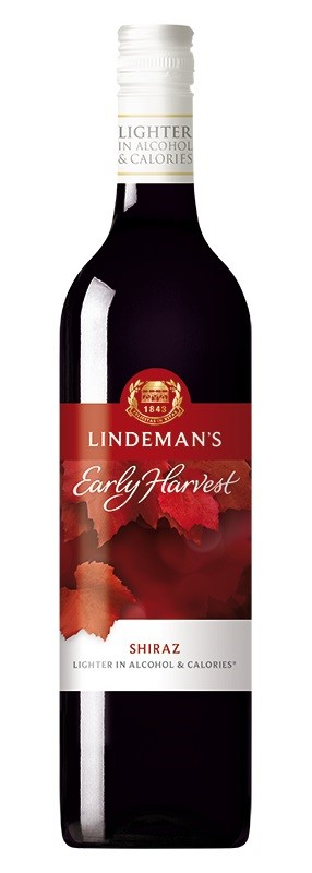 Lindeman's `Early Harvest` Shiraz 2018 (6 x 750mL), SE AUS.