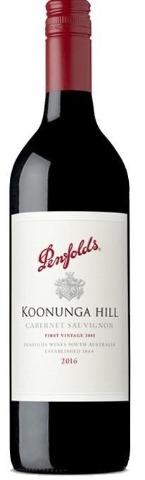 Penfolds `Koonunga Hill` Cabernet Sauvignon 2017 (6 x 750mL), SA.
