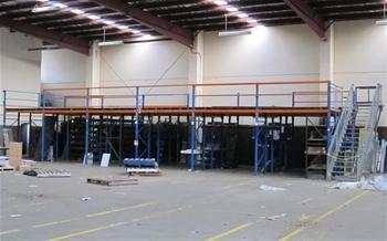 6 bays of pallet racking type a asset auction 0002 3000144 graysonline australia - Kind mezzanine kantoor ...