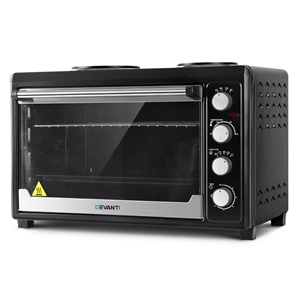 DEVANTi Electric Oven Bake Benchtop Roti