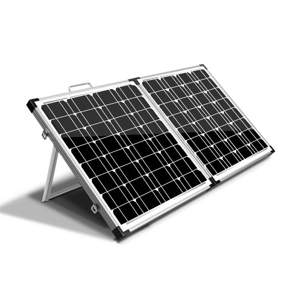 Solraiser 160W Folding Solar Panel Kit 12V Mono Charging Power USB