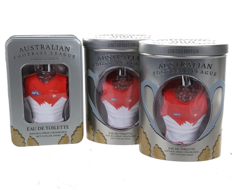 3 x AFL Fragrance Swans Eau de Toilette Limited Edition 100mL. N.B. This pr