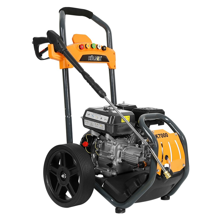 Kolner 7000 8HP 4800psi Petrol Engine High Pressure Washer