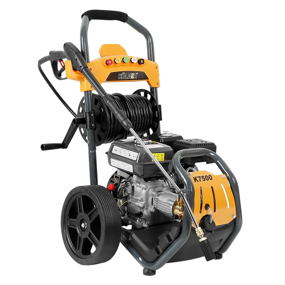 Kolner 7500 8HP 4800psi Petrol Engine High Pressure Washer 30m Hose