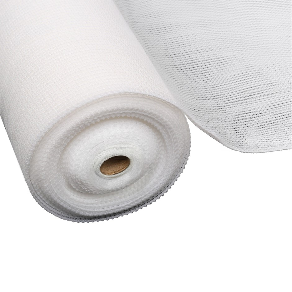 Instahut 3.66x10m 30% UV Shade Cloth Outdoor White