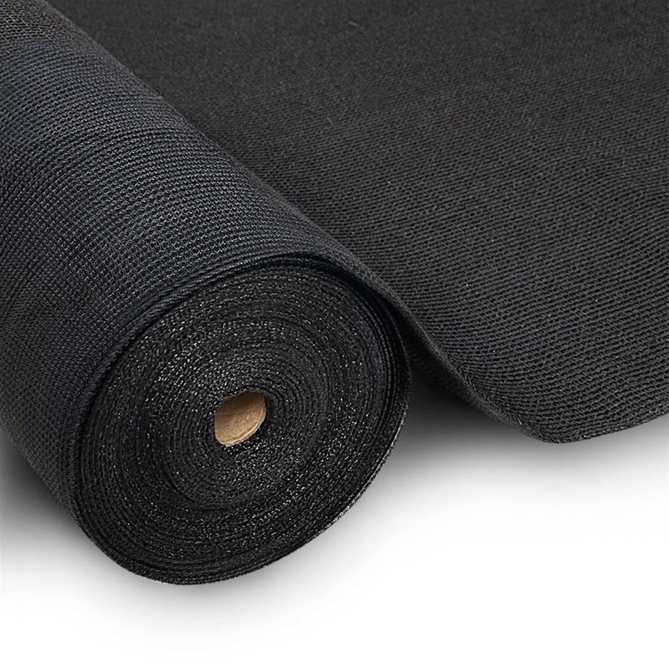 Instahut 3.66x20m 30% UV Shade Cloth Outdoor Black