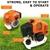 43cc 2 Stroke Engine Whipper Snipper + 4 Blades (5 in 1)