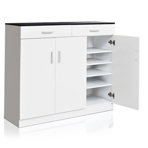 Artiss 5 Tier Shoe Cabinet with Adjustab