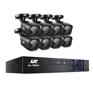 CCTV Security 8 Cameras 1080P HDMI 8CH D