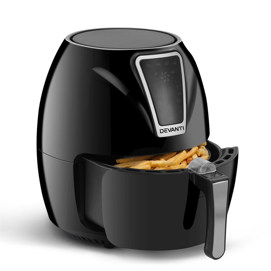 Devanti 3 Litre Air Fryer - Black