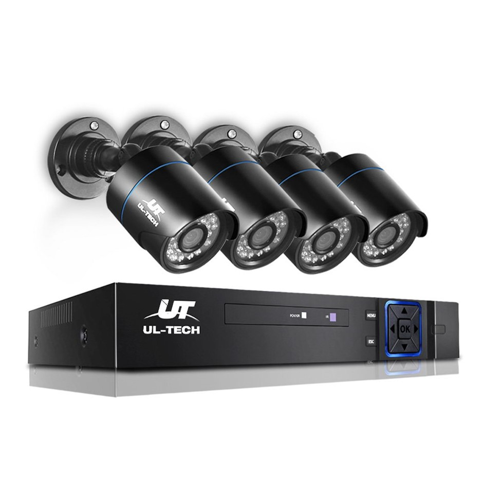 UL Tech 720P 4 Channel HDMI CCTV Security Camera