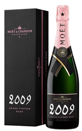 Moët & Chandon Grand Vintage Rosé 2009 (6 x 750mL), Champagne, France.