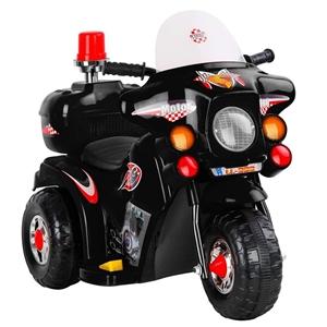 Rigo Kids Ride On Motorbike - Black