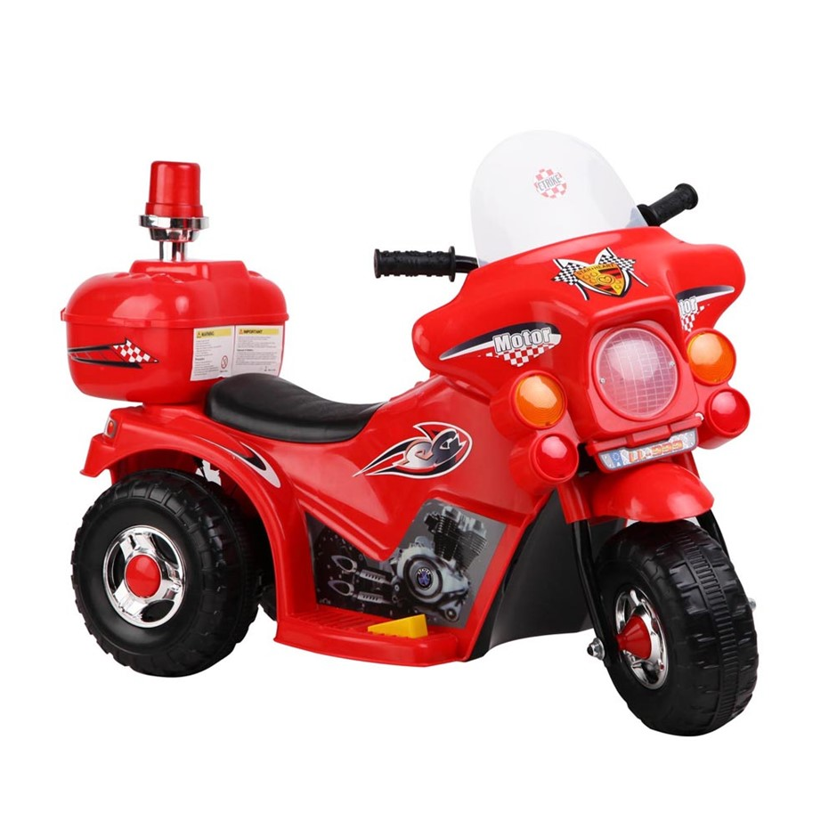 Rigo Kids Ride On Motorbike - Red