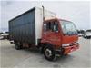 1998 Nissan PK250 4 x 2 Curtainsider Rigid Truck