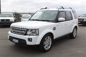 2015 Land Rover Discovery 4 SDV6 HSE 4WD Automatic SUV, 45,901 km indicated