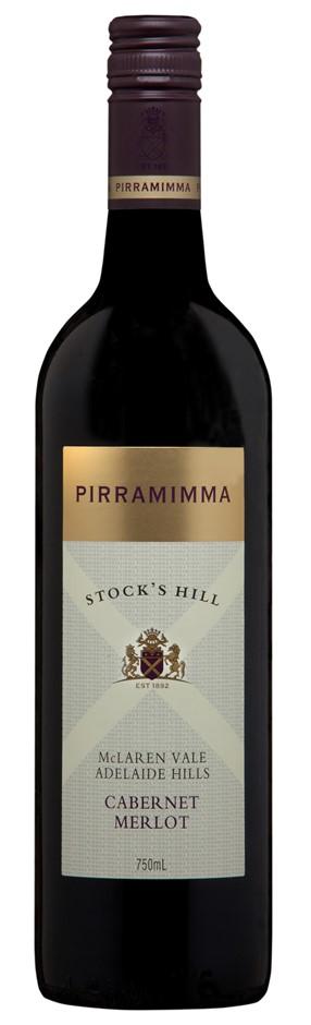 Pirramimma Stocks Hill Cabernet Merlot 2017 (12 x 750mL) SA