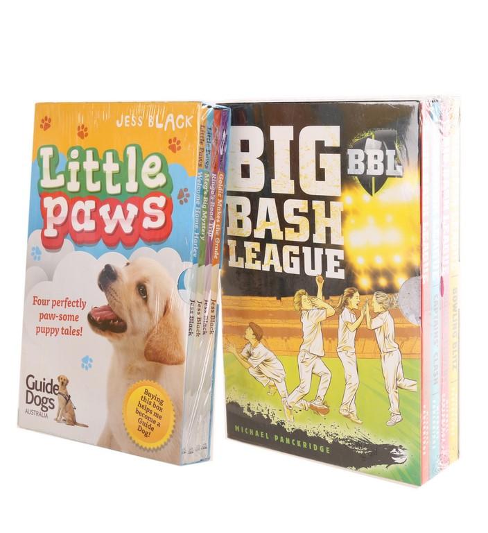 Set of 4 Books ``LITTLE PAWS`` By Jess Black & Set of 4 Books ``BBL BIG BAS