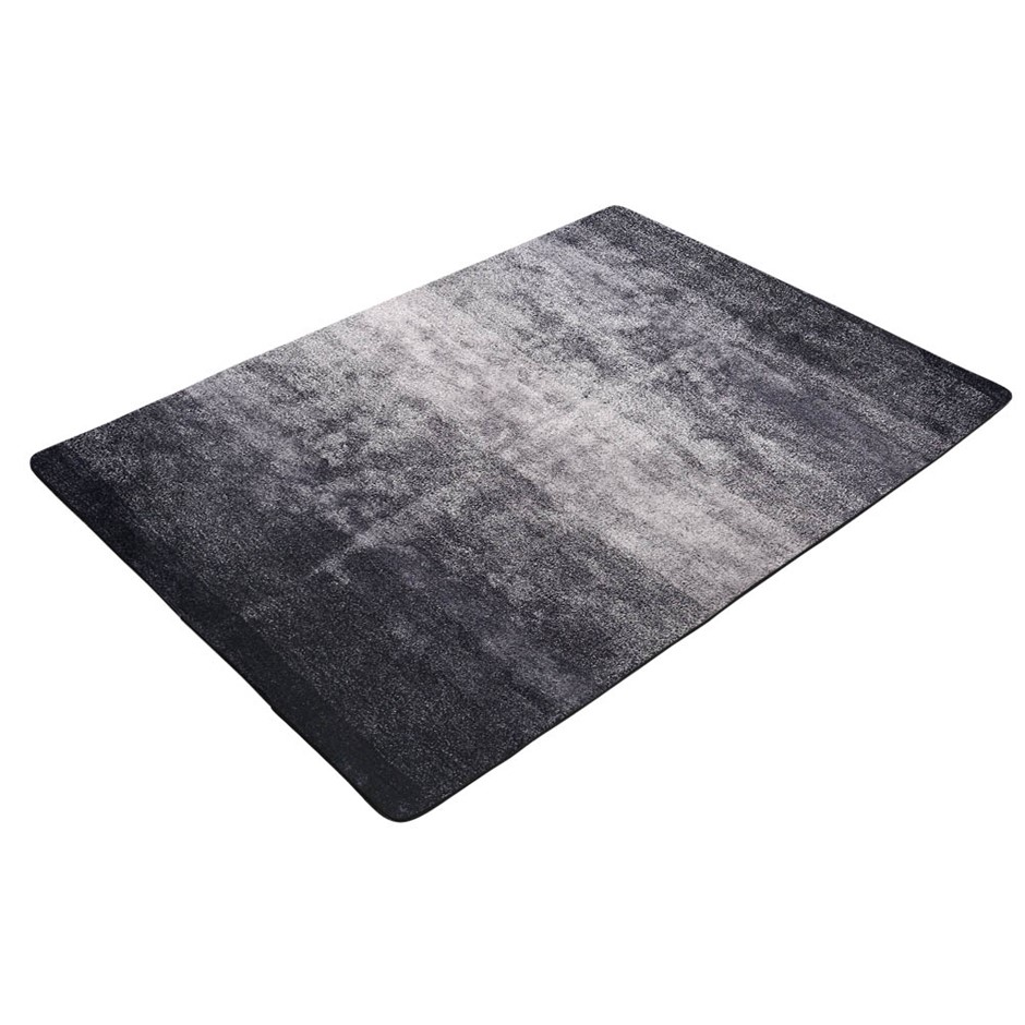 Artiss 160X230cm Ultra Soft Shaggy Rug Floor Gradual Color Area Rug Modern