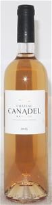 Chateau Canadel Bandol Rose 2015 (6x 750