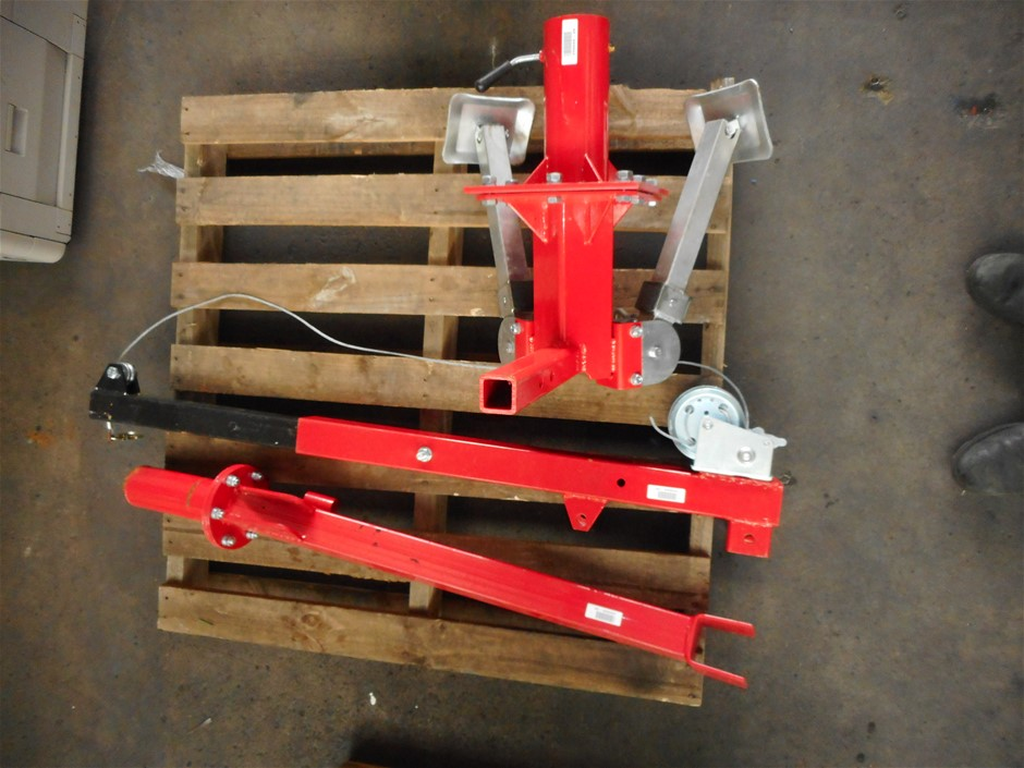 Unknown Disassembled Manual Wire Cable Hoist