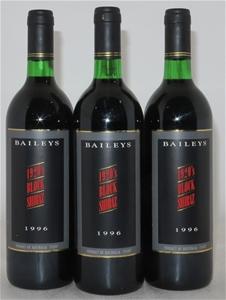 Baileys `1920s Block` Shiraz 1996 (3x 75