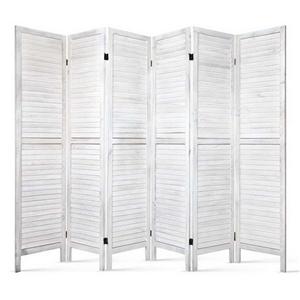 Artiss 6 Panel Room Divider Wood Foldabl