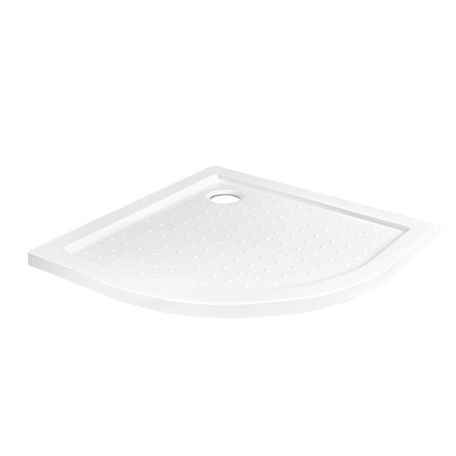 Cefito Shower Base Over Tray Acrylic ABS Fiberglass Curved 900mm DIY Bath