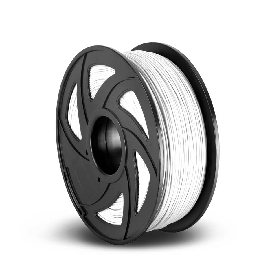 3D Printer Filament ABS 1.75mm 1kg Roll Accuracy 0.02mm Spool White