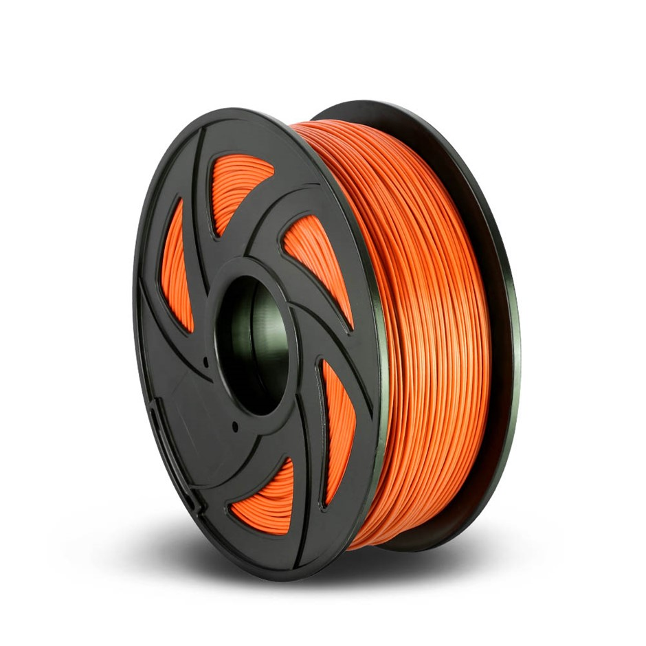 3D Printer Filament PLA 1.75mm 1kg Roll Accuracy 0.02mm Spool Orange