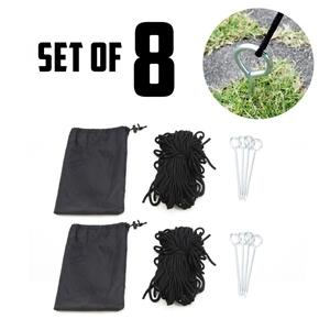 8X Gazebo Rope Set