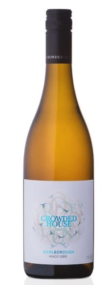 Crowded House Pinot Gris 2018 (6 x 750mL), Marlborough, NZ.