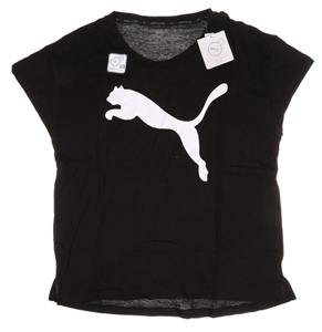 2 x Women`s PUMA Logo Active T-Shirts, S
