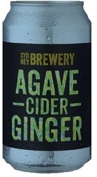 Sydney Berwery Agave Ginger Cider (24 x 330mL Cans)