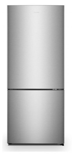 Hisense HR6BMFF453S 453L Bottom Mount Fridge - Silver