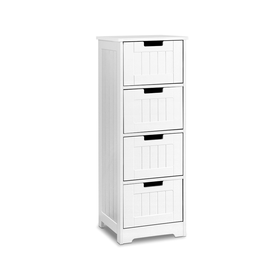 Artiss Storage Cabinet Chest of 4 Drawers Dresser Bedside Table Stand