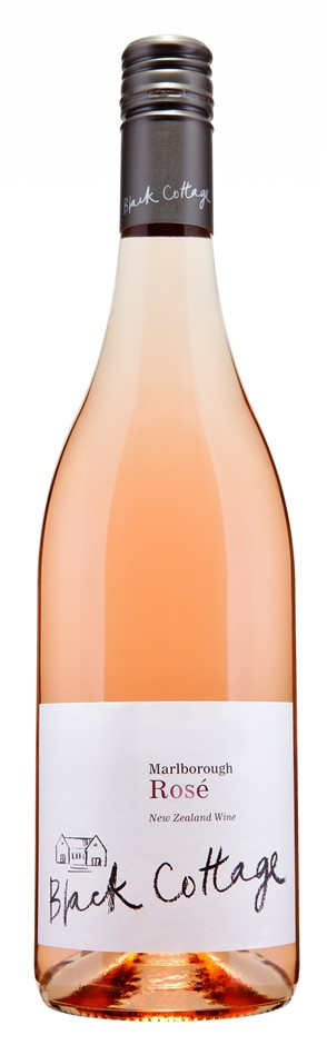 Black Cottage Rose 2018 (12 x 750mL), Marlborough, NZ.