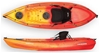 The Sierra 2.7m Kayak Including Seat And Paddle - Red/Yellow. By Wavedance