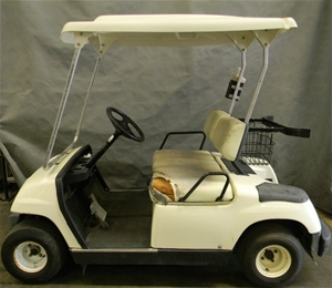 Golf cart yamaha g22a 2006 petrol colour cream for Yamaha golf cart id