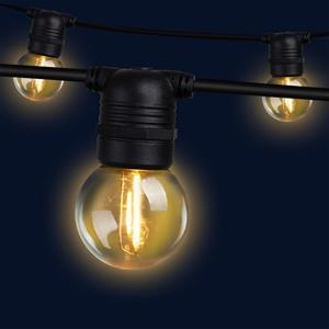 Jingle Jollys 50m LED Festoon String Lig