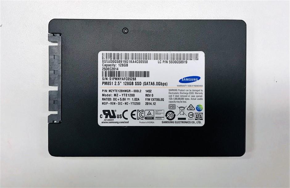 Samsung 2.5`` 128GB Solid State Drive Part Number: MZYTE128HMGR-000L2