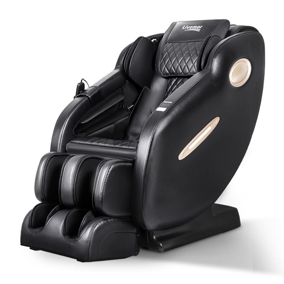 Livemor 3D Electric Massage Chair Body Air Bags Shiatsu Massaging Massager