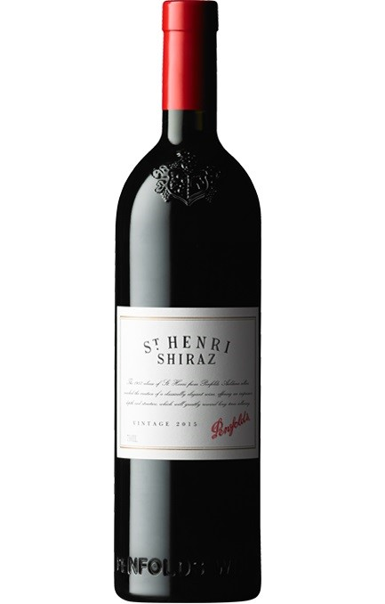 Penfolds St Henri Shiraz 2015 (6 x 750mL), SA.