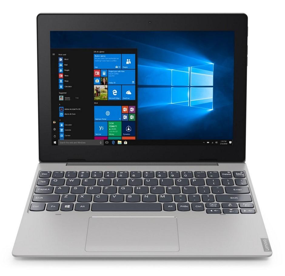 """Lenovo Ideapad D330 (10) Silver - 10.1"""" HD IPS Touch/N4000/4GB/32GB eMMC"""